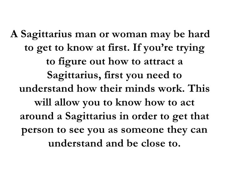 Wants Man What A Woman In Sagittarius