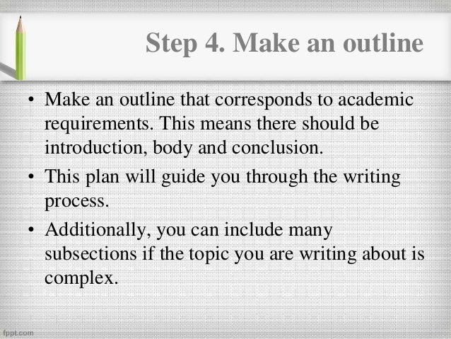 how do you write a research paper C creating an outline summary: construct an argument that answers the writing prompt by arranging your notes linearly outline for writing a research paper.