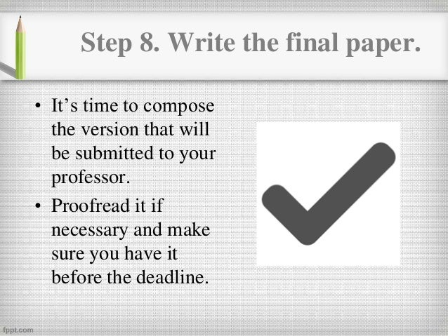 when writing a research paper when do you write the thesis How to write a dissertation or the research performed to support a thesis must be both if you are writing an ai thesis.