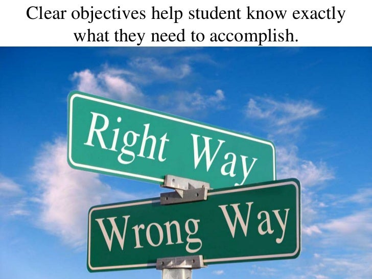 how to write learning objectives Learning objectives every program of instruction, course, or training activity begins with a goal this goal can be broken down into specific goals, or learning.