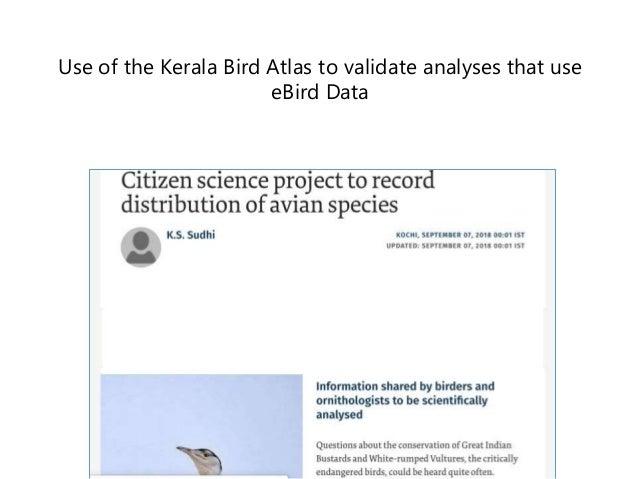 How Bird Atlas Data is getting used