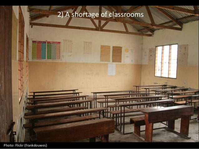 2) A shortage of classrooms Photo: Flickr (frankdouwes)
