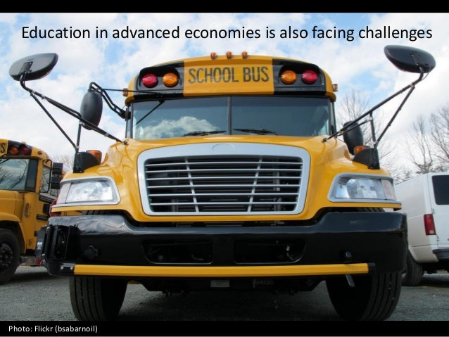 Education in advanced economies is also facing challenges Photo: Flickr (bsabarnoil)