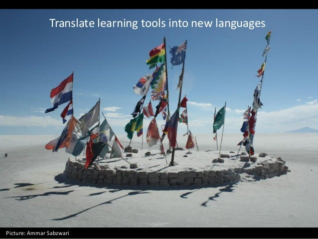 Translate learning tools into new languages Picture: Ammar Sabzwari