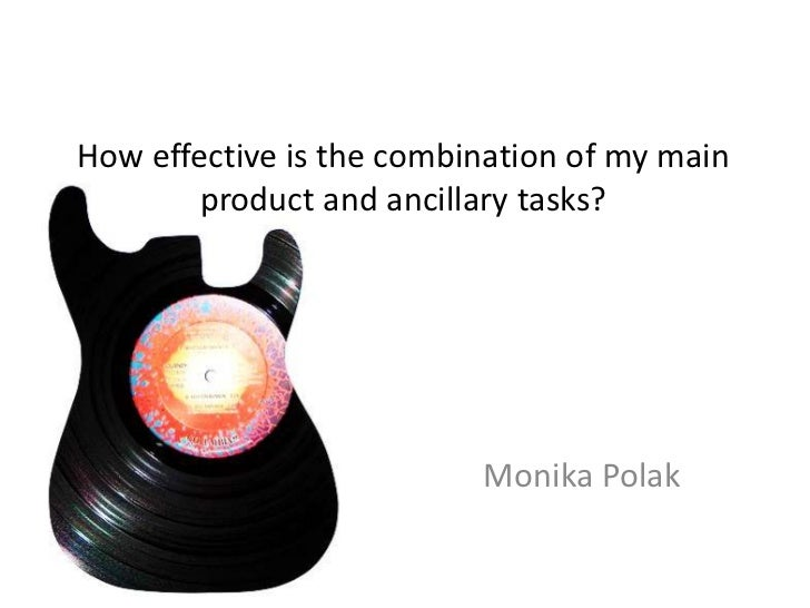 How effective is the combination of my main product and ancillary tasks?<br />Monika Polak<br />