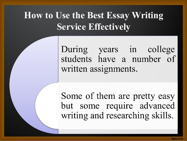 Using essay writing service online