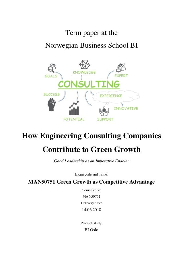 How engineering consulting companies contribute to green