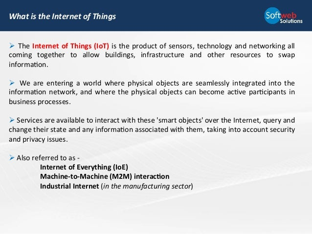 How Enterprise Can Benefit From Internet Of Things
