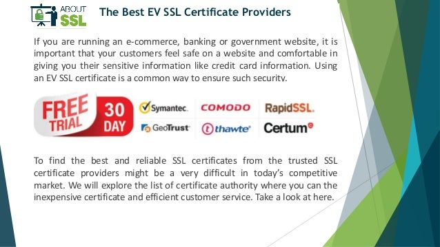 How EV SSL Helps to Boost Ecommerce Business?