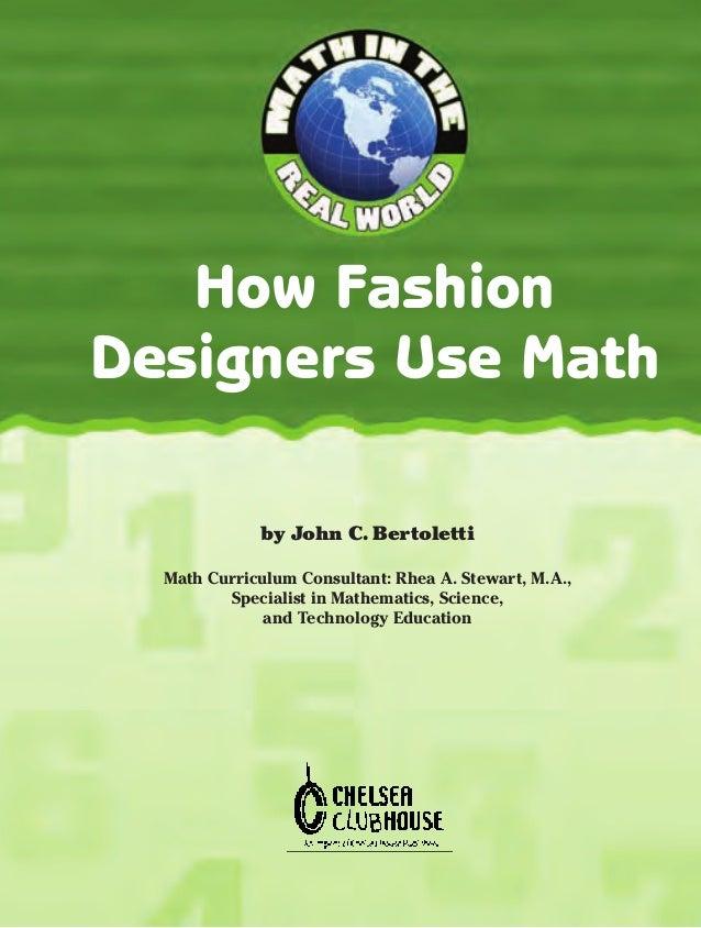 How Fashion Designers Use Math