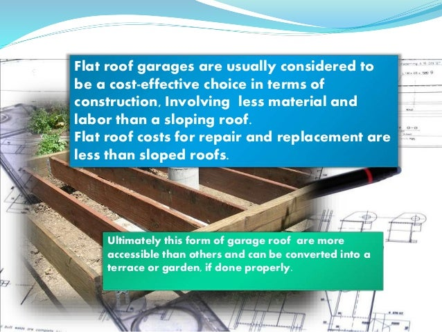 Flat Roof Garages ...