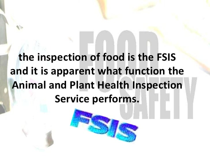 an introduction to the safety of our food supply Keeping our food safe requires an understanding of food safety principles that could appear in our food and most food supply businesses use food safety.