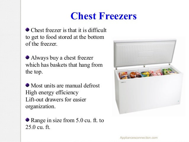 How freezers work