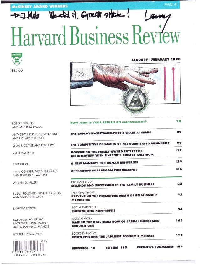 How GE Integrates Acquisitions Hbr Article
