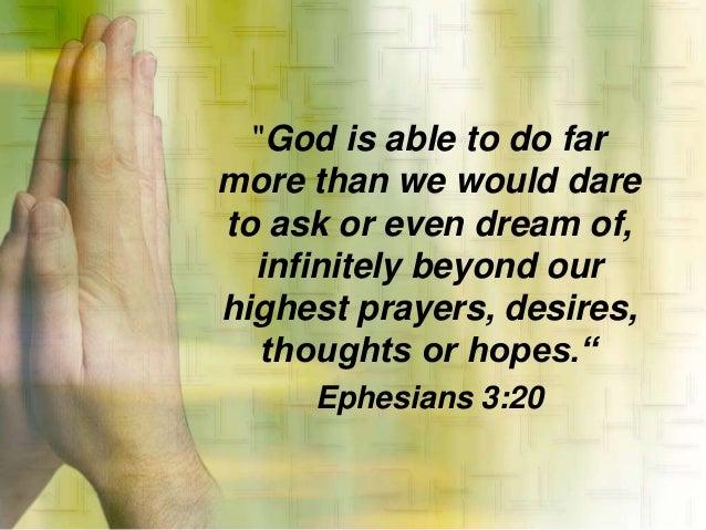 PASTORS' APPRECIATION DAY - HOW GOD BUILDS YOUR FAITH ...