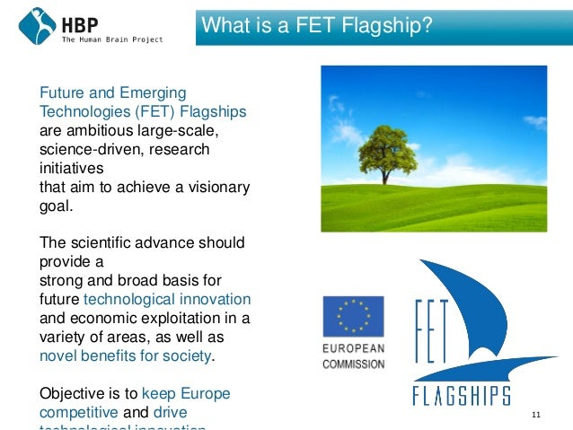 11 What is a FET Flagship? Future and Emerging Technologies (FET) Flagships are ambitious large-scale, science-driven, res...