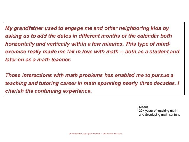 How has math helped you in your career (#mathcareer)