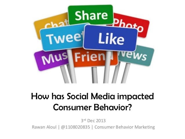social media marketing impact on consumer behavior The role of digital and social media marketing in consumer behavior andrew t stephen this article reviews recently published research about consumers in digital and social media marketing settings five themes are identified: (i) consumer digital culture, (ii) responses to digital advertising, (iii) effects of digital.