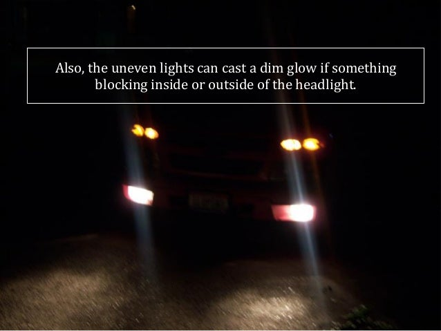 how to make the headlights glow in beamng drive lights
