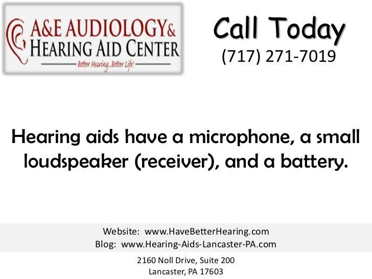 How Hearing Aids Work Slide 3