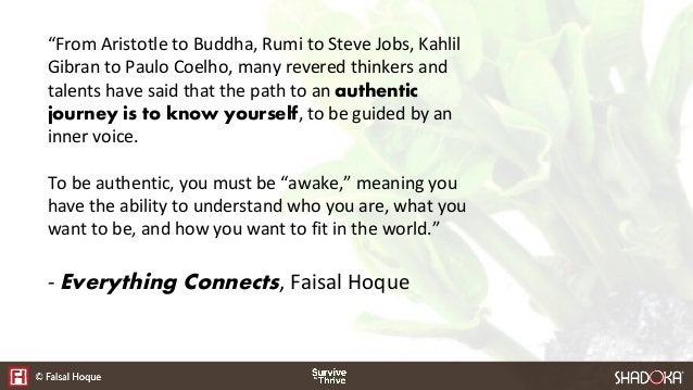 """""""From Aristotle to Buddha, Rumi to Steve Jobs, Kahlil Gibran to Paulo Coelho, many revered thinkers and talents have said ..."""