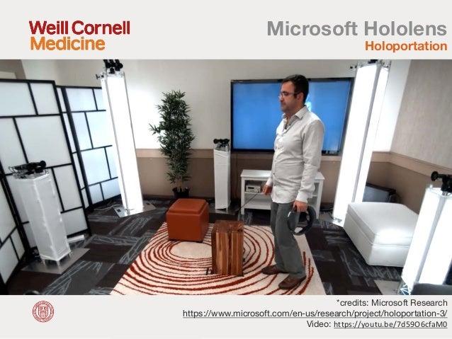 How HoloLens Transforms Healthcare