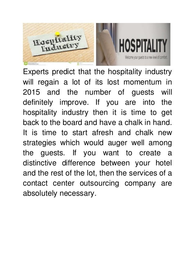 Outsourcing Within Hotel Industry