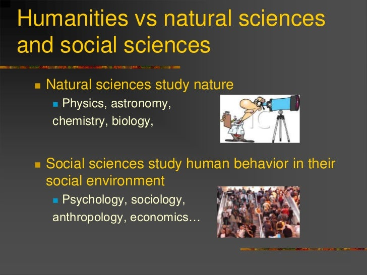 Psychology Social Science Vs Natural Science