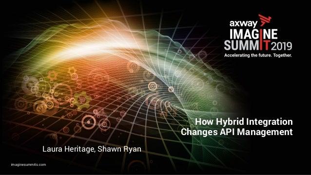 imaginesummits.com How Hybrid Integration Changes API Management Laura Heritage, Shawn Ryan