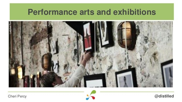 @distilledCheri Percy Performance arts and exhibitions