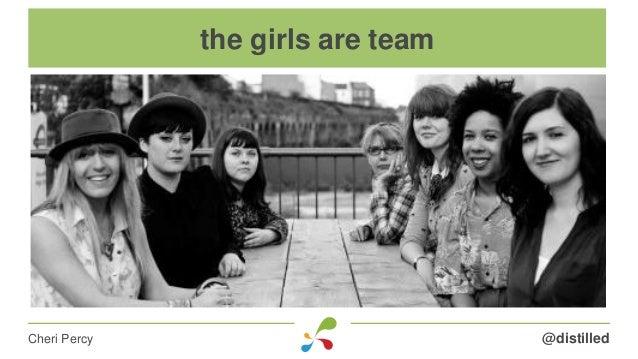 @distilledCheri Percy the girls are team