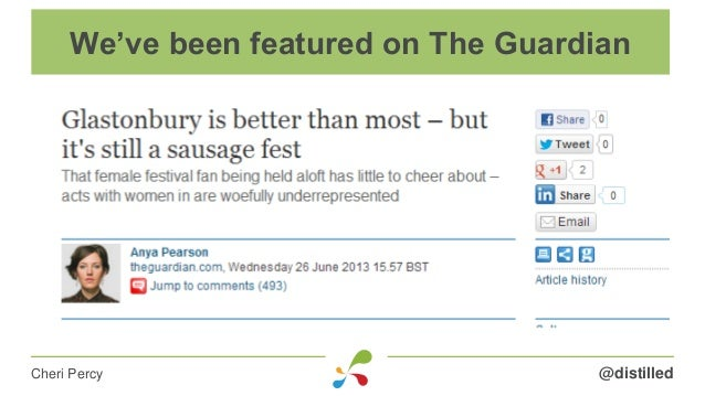 @distilledCheri Percy We've been featured on The Guardian