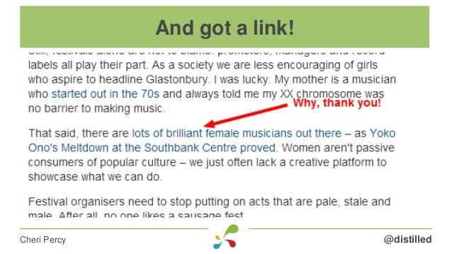 @distilledCheri Percy And got a link!