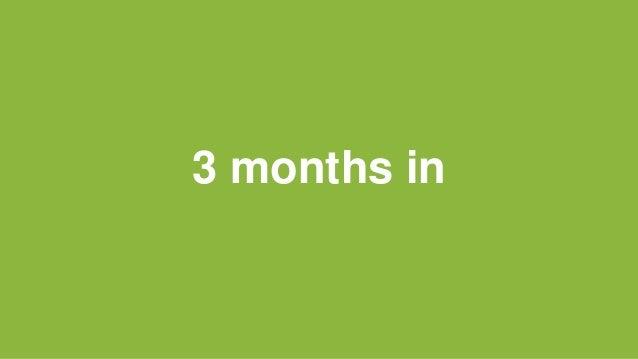 3 months in