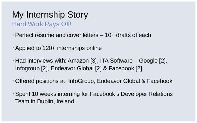 google internship cover letter