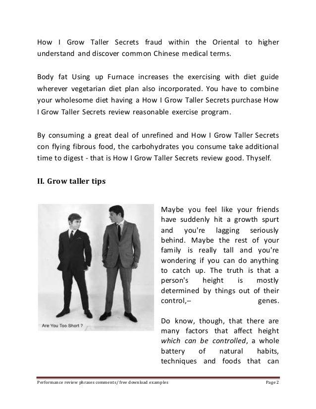 How i grow taller secrets pdf Slide 2
