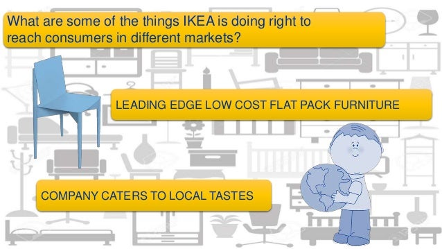 ikea cultural factors expansion Concur, however, that certain general factors consistently determine which countries attract  expansion of businesses, more generally, could be constrained.