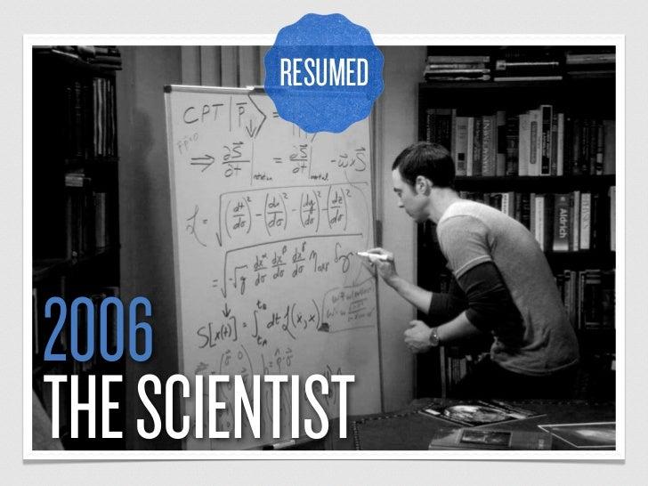RESUMED2006THE SCIENTIST