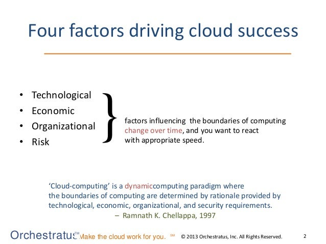 How I learned to stop worrying and love the cloud Slide 3