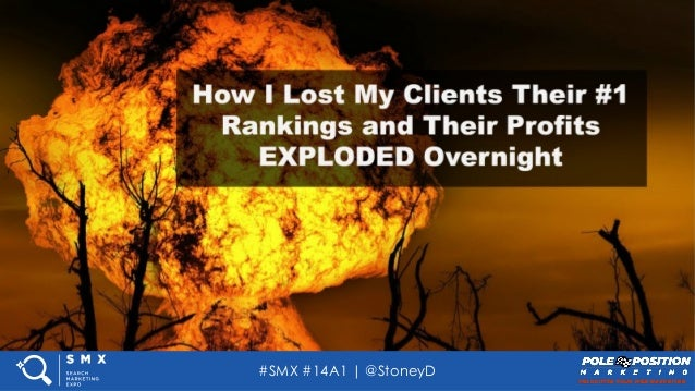 #SMX #14A1 | @StoneyD Add Your Presentation Subtitle Here TITLE SLIDE – WRITE A COMPELLING HEADLINE FOR SOCIAL SHARING