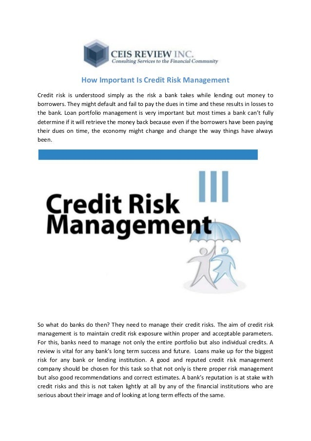credit risk management in kenya The risk and return are directly related to each other, which means that increasing one will subsequently increase the other and vice versa the purpose of this study was to analyze the effect of financial risk management on the financial performance of commercial banks in kenya in achieving this objective,.