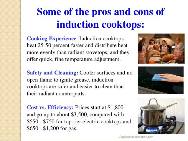 Induction cooktop pros and cons roselawnlutheran for Basement pros and cons