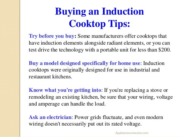 How Induction Cooktops Work