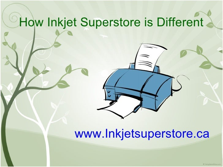 How Inkjet Superstore is Different www.Inkjetsuperstore.ca