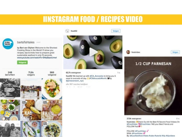 Why food is so popular on instagram iinstagram food recipes video forumfinder Choice Image