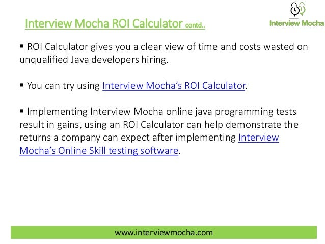 how interview mocha s online java programming tests can help you save 10
