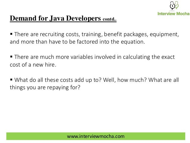 how interview mocha s online java programming tests can help you save 3 demand for java