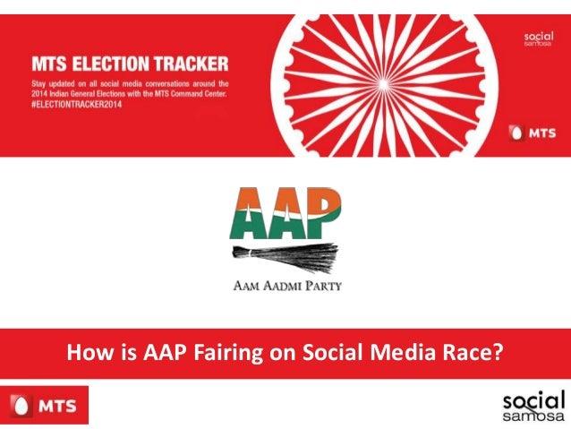 How is AAP Fairing on Social Media Race?