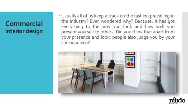 How is commercial interior design different from residential interior design? Slide 2