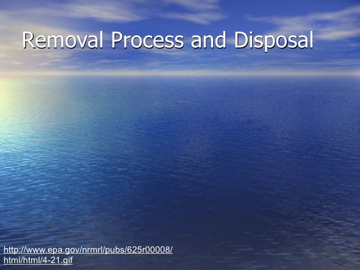 • Screened     • Disposed to Landfill     • Settlement tank     • Sludge     • Aerated   http://www.epa.gov/nrmrl/pubs/625...